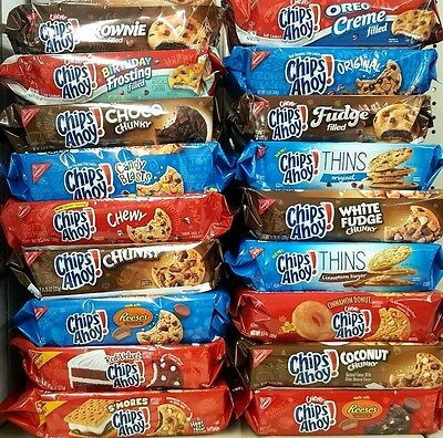 Stupendous Chips Ahoy Nabisco Chewy Creme Filled Soft Cookies Limited Edition Funny Birthday Cards Online Eattedamsfinfo