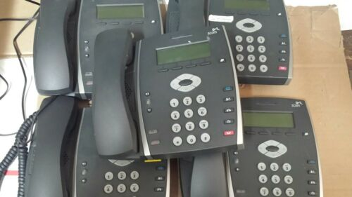 hp 3com 3501 ip display phone LOT OF 5 FREE SHIP excellent condition