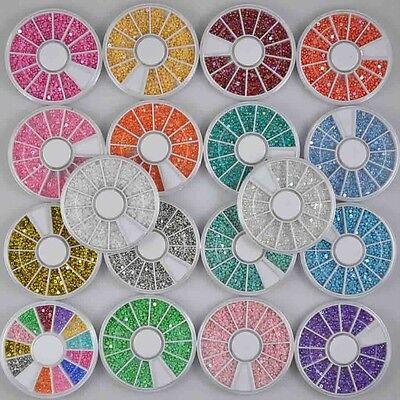 18 Charming Various Mixed Pearls Decoration Pearl for Nail Art Nail Tips NEW