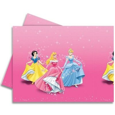 "72"" x 47"" Disney Princess Party Disposable Plastic Table Cover"