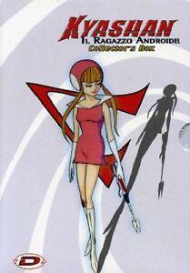 KYASHAN IL RAGAZZO ANDROIDE - SERIE COMPLETA in box (7 dvd)
