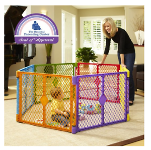 North States Baby Gate Superyard Play Yard Portable Playard
