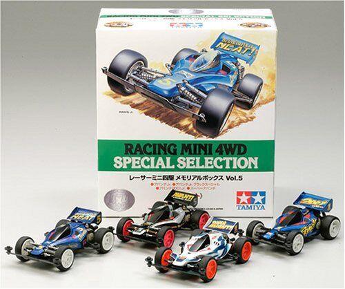Tamiya Racing Mini 4WD SPECIAL SELECTION Memorial Box Vol.5 EMS w  Tracing