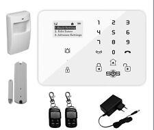 GSM FUNK ALARMANLAGE ALARMSYSTEM TÜRALARM LCD TOUCHPAD APP STEUERBAR CCTV KAMERA