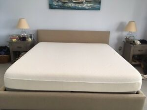 Image Is Loading King Size Cloud Supreme Tempurpedic Mattress