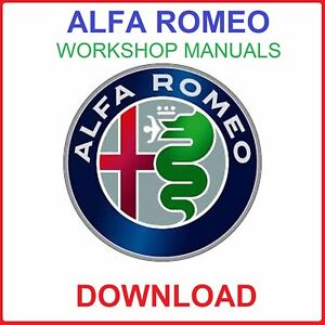 Details about ALFA ROMEO WORKSHOP SERVICE MANUALS DOWNLOAD on