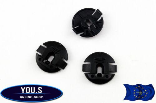 10 x dispositif de protection arrière sous protection pattes clip pour vw passat 4f0825429a