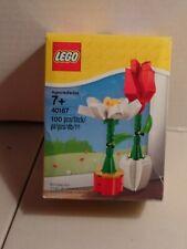 LEGO 40187 Flowers Red Rose /& White Daisy  ~ Interchangeable Pots ~ BNIB 100 pc