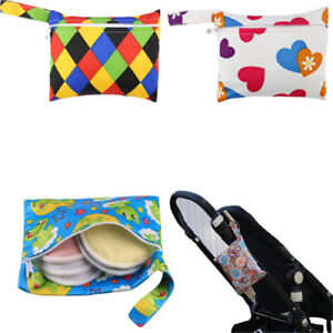 Mini-Nursing-Wet-Bag-Waterproof-Reusable-for-Mama-Cloth-Menstrual-Pads-HF