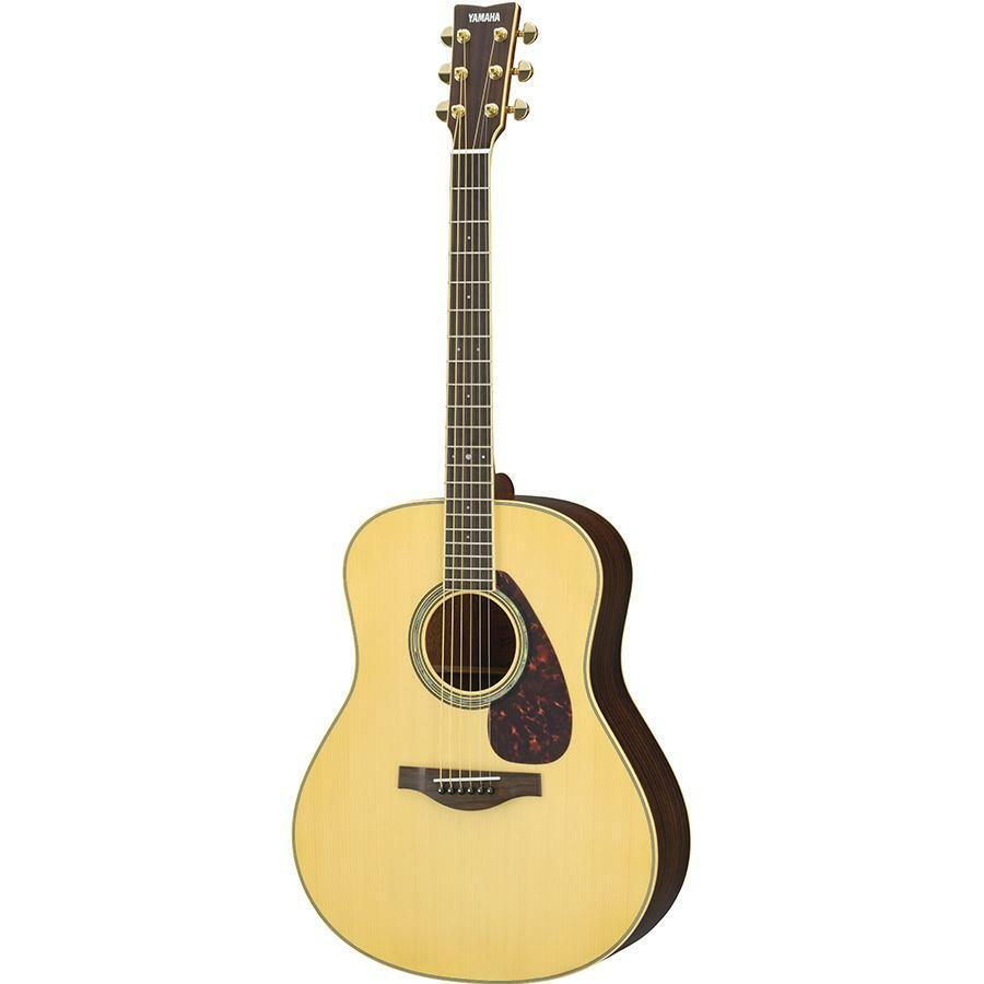 Yamaha LL6 A.R.E Jumbo Natural Finish Acoustic Guitar