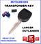 MIT11-61-MITSUBISHI-TRANSPONDER-KEY-BLANK-LANCER-OUTLANDER-2003-2004-2005-2006 thumbnail 1