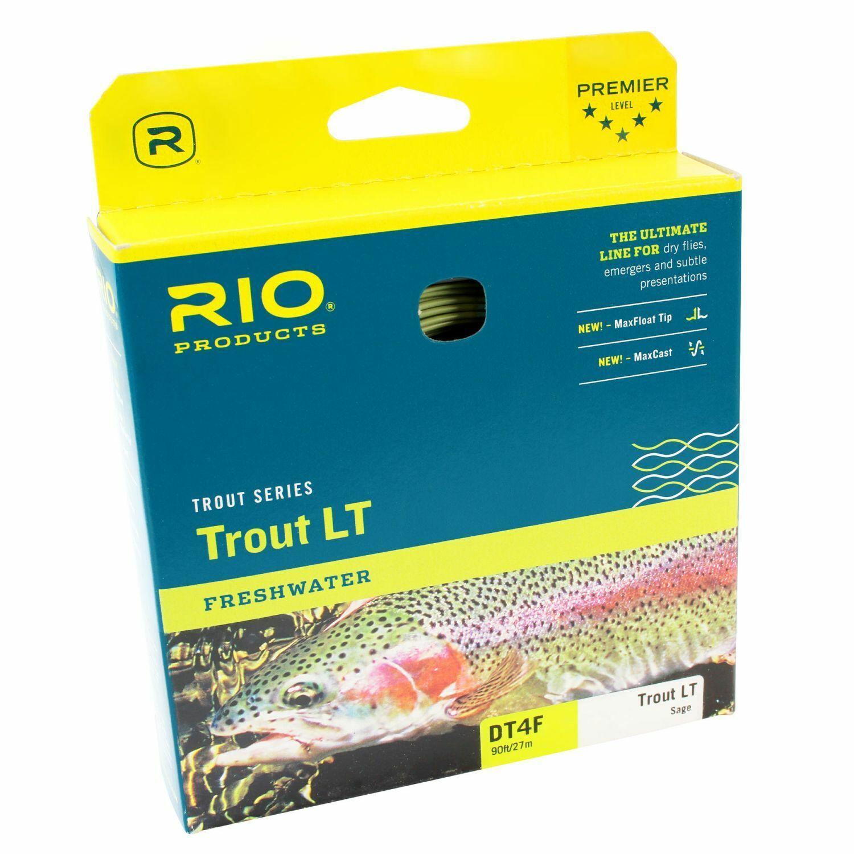 2,50 m Rio Trout LT dualtone volare corda dico diverse lunghezze e veri ingrossoienti
