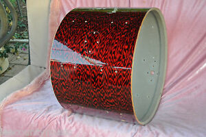 "60's Rogers 20"" HOLIDAY RED ONYX PEARL BASS DRUM SHELL for DRUM SET #G983 - Fort Myers, Florida, United States - 60's Rogers 20"" HOLIDAY RED ONYX PEARL BASS DRUM SHELL for DRUM SET #G983 - Fort Myers, Florida, United States"