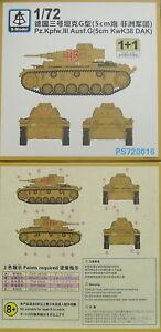 pz-kpfw-III-terminacion-g-5cm-kwk38-DAK-1-72-s-model-paquete-doble