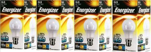 4 X Energizer LED GLS Daylight Bulb BC//B22 9.2w = 60w 820lm Energy Class A+
