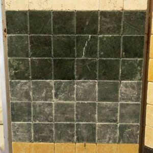 Piastrelle Mosaico 10x10 In Pietra Marmo Verde Alpi Per
