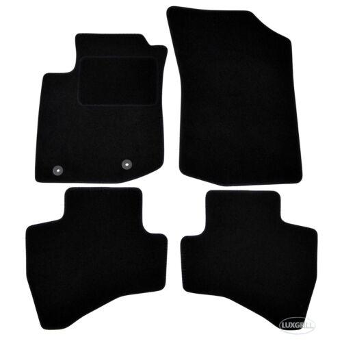 Fußmatten Autofußmatten Velours für CITROEN C1 ab 2014 4tlg schwarz