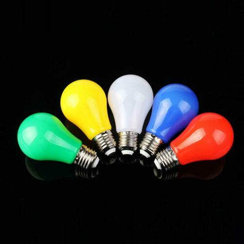 E27 5W 175-265V LED Color Candle Lamp KTV Party Stage Light Home Room Decoration