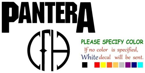 Pantera CFH Graphic Die Cut decal sticker Car Truck Boat Window Laptop 12/""