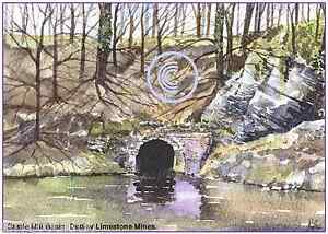 DUDLEY LIMESTONE MINES WEST MIDS WATERCOLOUR ARTISTS PRINT GREETINGS CARD 8034x 6034 - <span itemprop=availableAtOrFrom>Walsall, West Midlands, United Kingdom</span> - Returns accepted Most purchases from business sellers are protected by the Consumer Contract Regulations 2013 which give you the right to cancel the purchase within 14 days - Walsall, West Midlands, United Kingdom