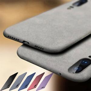 For Huawei P Smart P20 Pro P9 Lite Mini Soft TPU Sandstone Matte Back Case Cover