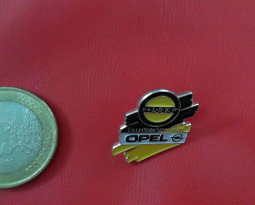 Opel Fussball Lillestrom SK Pin Badge