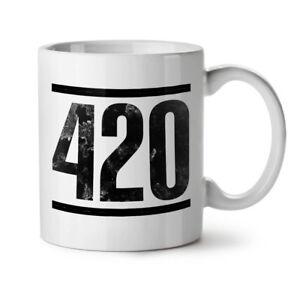 Time For Weed Symbol NEW White Tea Coffee Mug 11 oz   Wellcoda