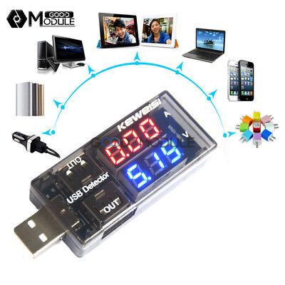 10PCS LED USB Charger Doctor Voltage Current Meter Tester Power Detector
