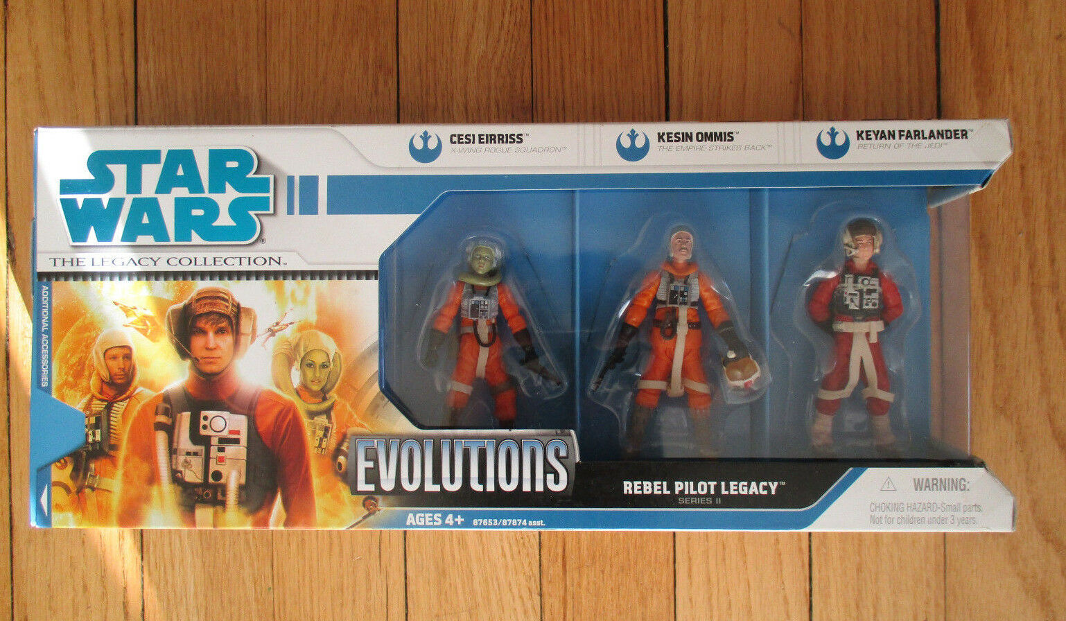 Star Wars Evolutions REBEL PILOT LEGACY Cesi Eirriss Kesin Ommis Keyan Farlander