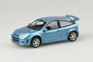 Cararama-FORD-FOCUS-Blu-metallico-1-43-MIB