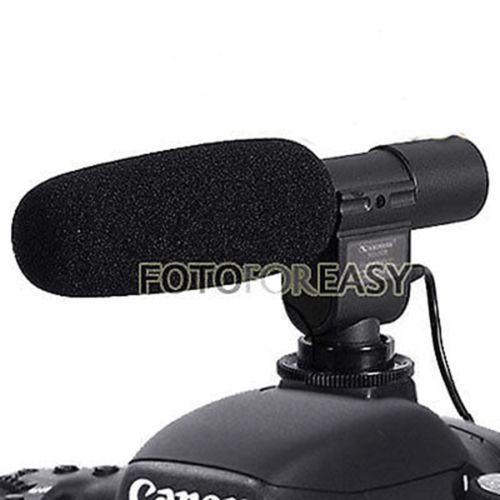SG-108 Shotgun Stereo Microphone for DV DSLR Canon 5D III II 7D 550D 600D 60D K5