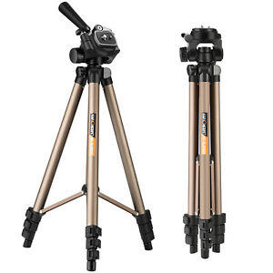 Professional-Camera-Tripod-Stand-amp-Pan-Head-for-Canon-Nikon-Sony-DSLR-K-amp-F-Concept