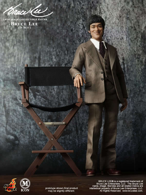 Hot Toys 1 6 Bruce Lee In Suit Suit Suit MIS11 254776