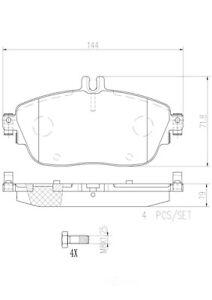 For Mercedes X156 C117 GLA250 CLA250 Disc Brake Pad Set Front l4 Brembo P50093N