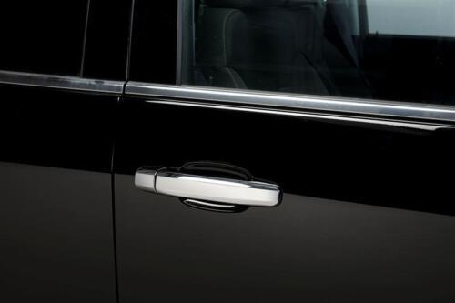 Set of 2 Putco Chrome Door Handle Covers for Chevy Silverado 1500//2500 HD 2-Door