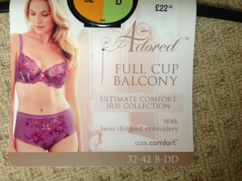 BRA ADORED UNDERWIRED FULL CUP BALCONY MARKS /& SPENCER PINK 32D DD BRA BNWT