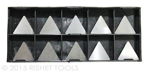RISHET TOOLS TPG 321 C2 Uncoated Carbide Inserts 10 PCS