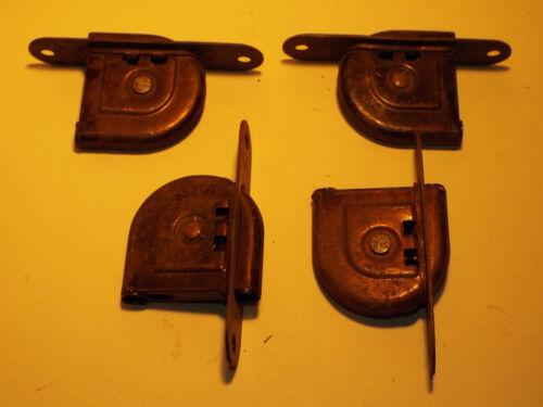 4 Vintage Stanley Works steel window Sash pulleys New Britain Conn
