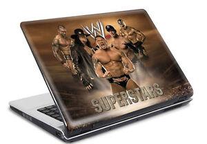 Laptop-Notebook-Netbook-Skin-Sticker-Folie-Schutz-Aufkleber-WWE-26x19