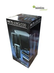 Harman Kardon HKTS 65 BQ Lautsprechersystem 5.1 (Schwarz) NEU Fachhandel