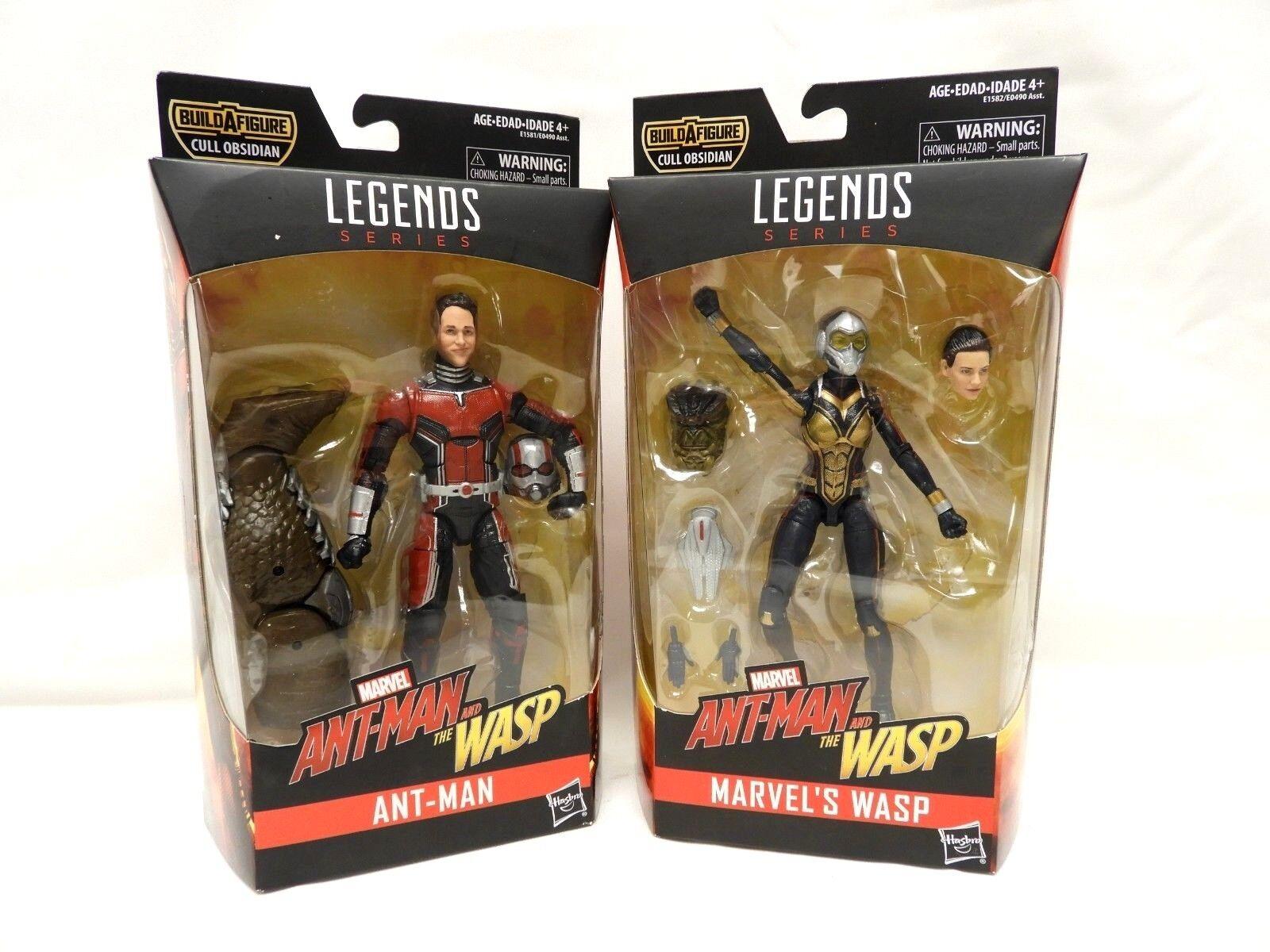Marvel - legenden satz 2 baf manschette obsidian  ant-man & wasp - neue -