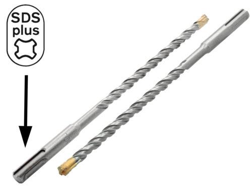 SDS-PLUS Hammerbohrer Betonbohrer Ø 18 x 600 mm Quadro Stein Maurwerk Bohrer
