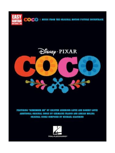 Disney Pixars Coco For Easy Guitar Learn to Play Songs Tunes Beginner MUSIC BOOK