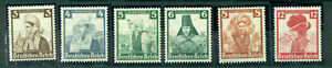 Deutsches-Reich-Trachten-Nr-588-597-postfrisch
