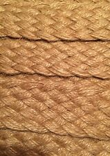 "BRUNSCHWIG & FILS passimenterie braid woven 1 1/2""  jute natural  new 14 yards"