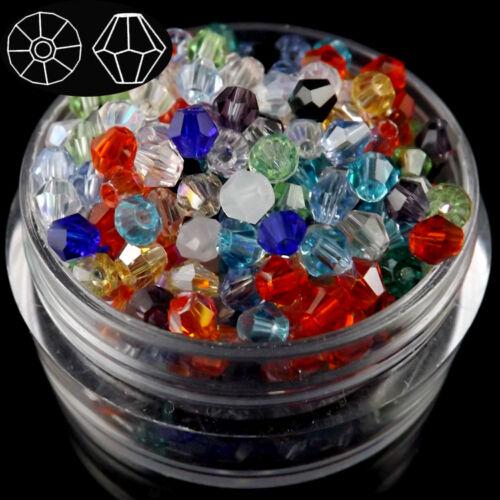 3mm 1000pcs Austria Crystal bicone beads #5301  72 colors for U pick
