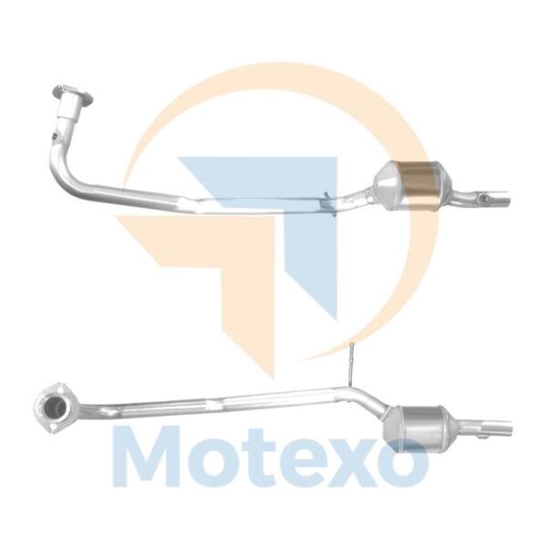 100% Vero Bm91592h Scarico Approvato Benzina Catalizzatore + Kit Di Montaggio +2yr Garanzia