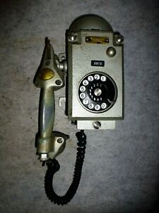 FERNSIG ESSEN Telefon Fernsprecher vom Bergwerk Bergwerkstelefon Zeche telephone