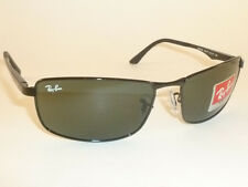 d48e084a447 item 8 New RAY BAN Sunglasses Black Frame RB 3498 002 71 Green Lenses 61mm  -New RAY BAN Sunglasses Black Frame RB 3498 002 71 Green Lenses 61mm