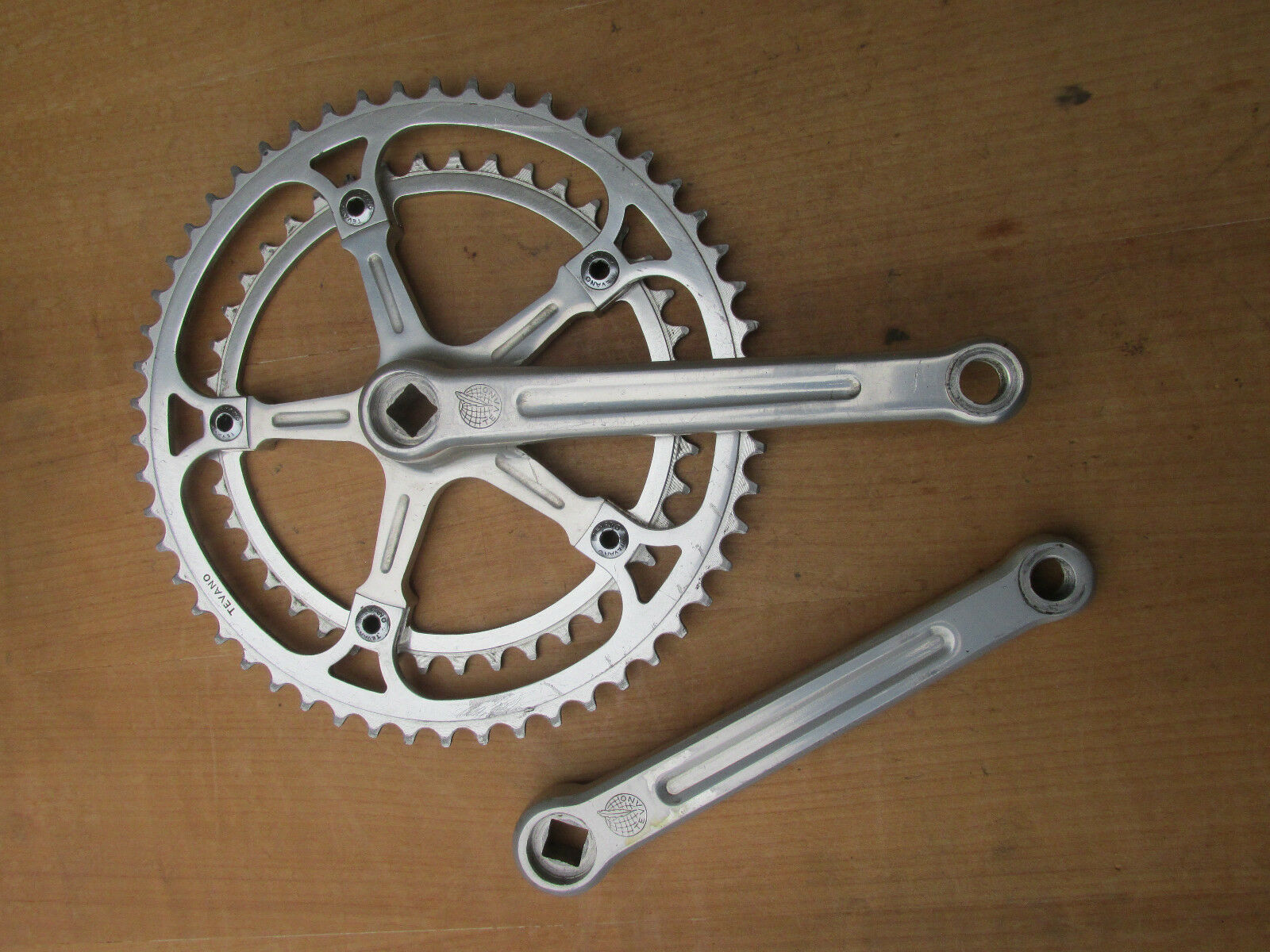 TEVANO SPECIALITES TA PEDALIER VELO COURSE ROAD RACE BICYCLE CRANKSET 170 42 53